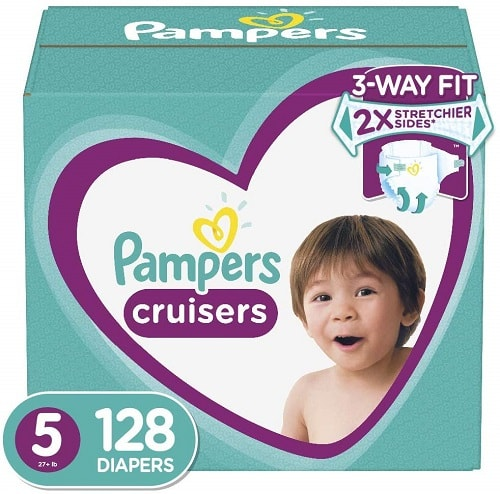 Pampers Cruisers size 5