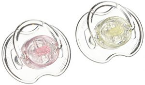 Philips AVENT Translucent Orthodontic Infant Pacifier
