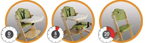 Abiie Beyond Wooden High Chair - EZ