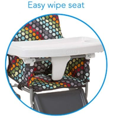 Cosco Simple Fold High Chair - clean