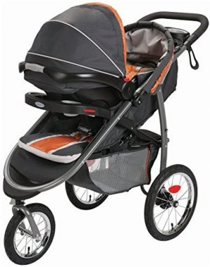 Graco Fastaction Fold Jogger-with-car-seat