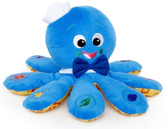 Best Toys for Babies Aged 0-6 Months, the lot dallas, Octopus-Plush-Toy