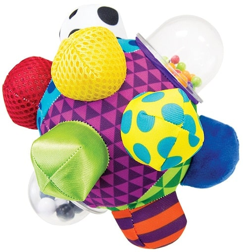 toys for babies of 0-6 months old, the lot dallas, Bumpy-Ball