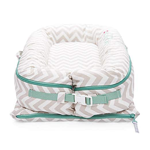 DockATot Deluxe+ All In One Baby Lounger​-buckled