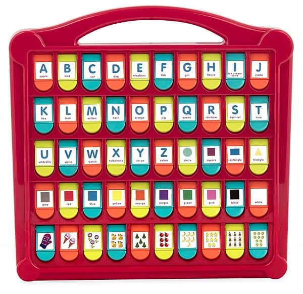 Best Toys for 3-Year-Olds, the lot dallas, Battat Alphabet Pop-Up Toy