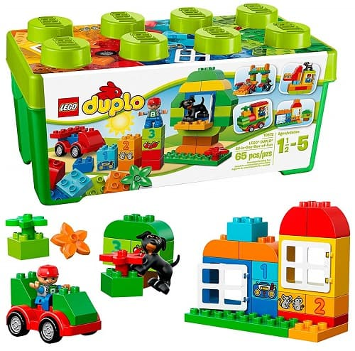 Best Toys for 1-Year-Old, the lot dallas, LEGO-Duplo-Creative-Play-Fun-Box