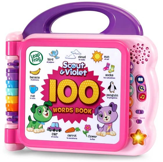 Best Toys for 2-Year-Olds, the lot dallas, LeapFrog 100 Words Book