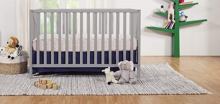 Best Baby Cribs, the lot dallas, Union-2-in-1-Convertible-Crib-Nursery