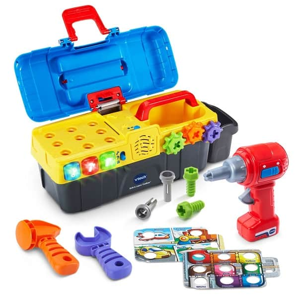 Best Toys for 2-Year-Olds, the lot dallas, VTech Drill & Learn Toolbox