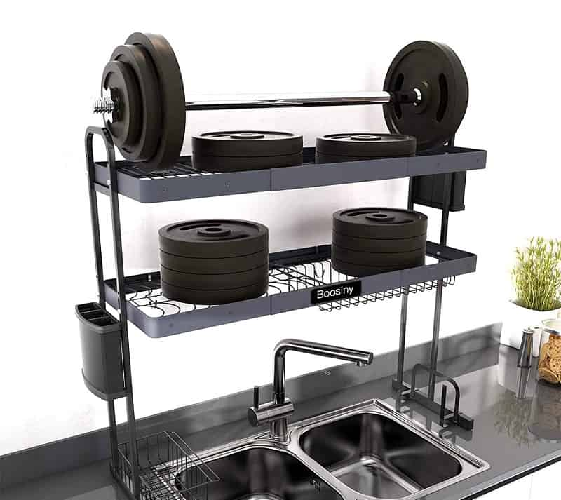 Best Over Sink Dish Rack Boosiny