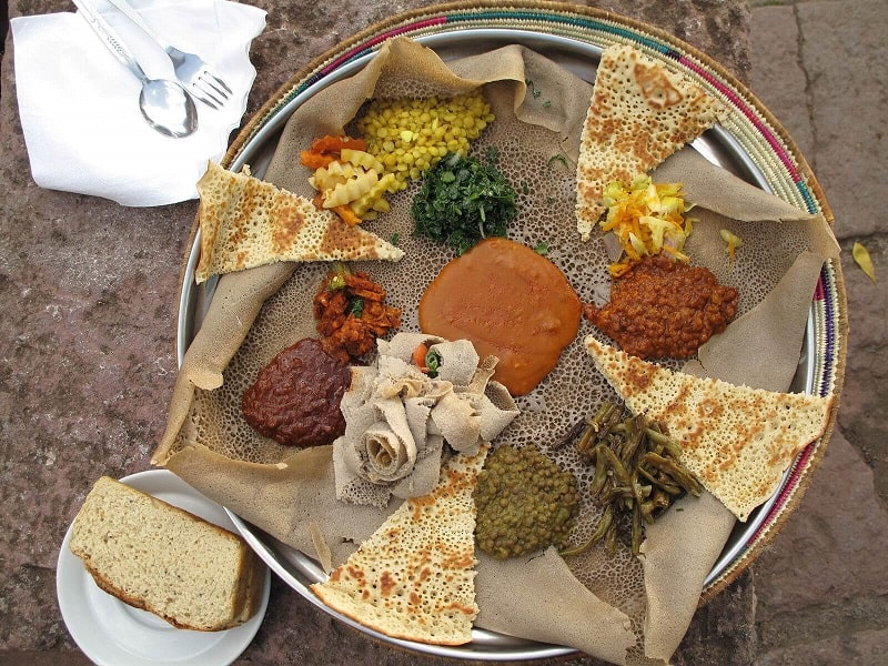 Foods That Start With I, the lot dallas, Injera