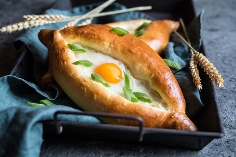 Foods That Start With K, Khachapuri, the lot dallas