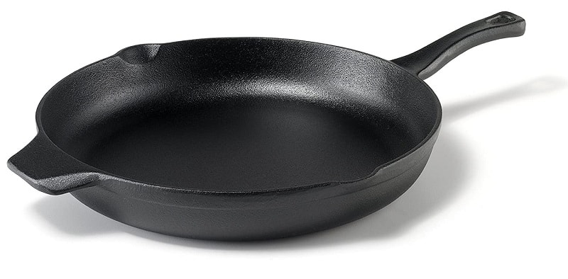 best cast iron grill pan for searing Calphalon Pre-Seasoned 12-inch