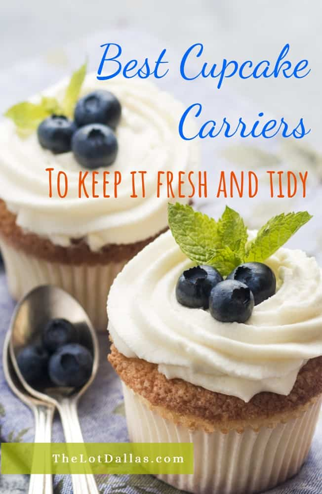best cupcake carrier, the lot dallas, share