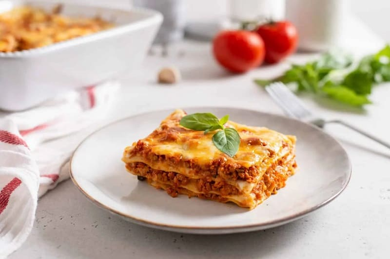 Food That Starts with L, the lot dallas, lasagna