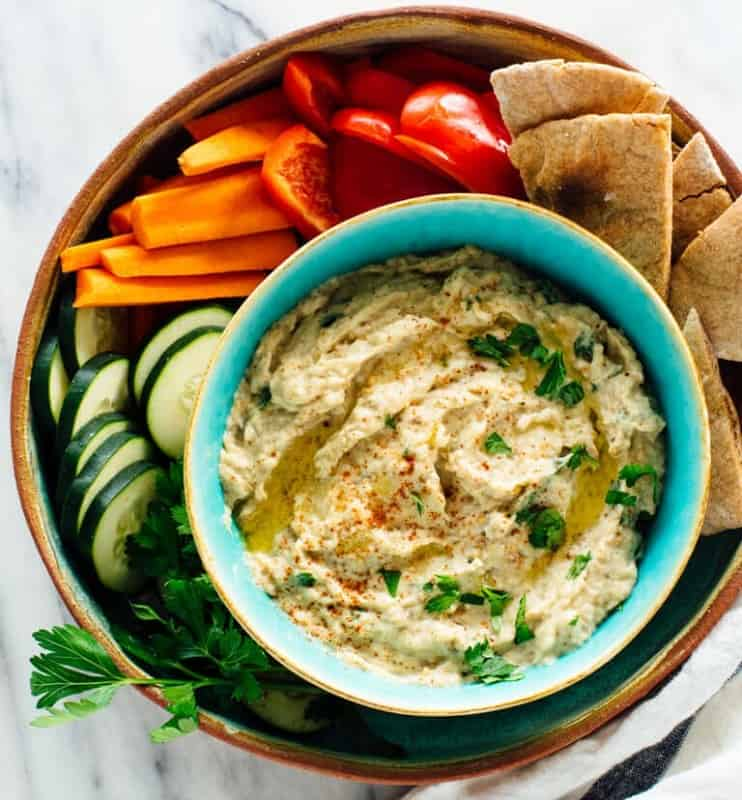 Food that Starts with B, the lot dallas, Baba Ganoush