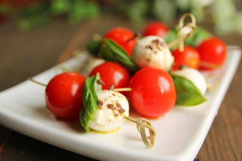 Food that Starts with B, the lot dallas, bocconcini