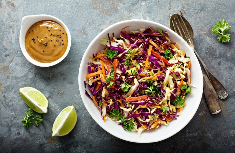 Food that starts with S, the lot dallas, slaw