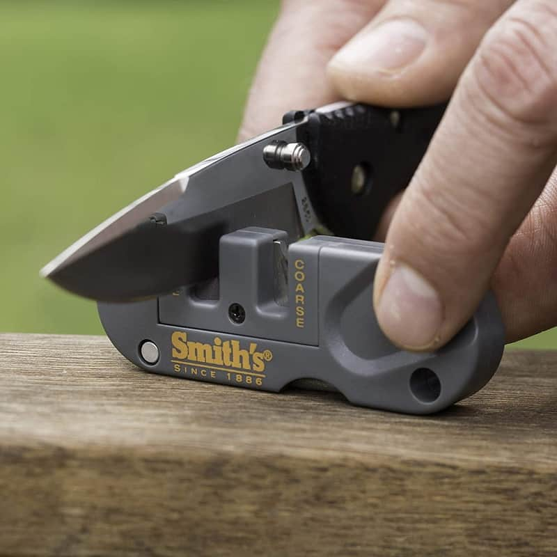 best pocket knife sharpener, the lot dallas, Smiths