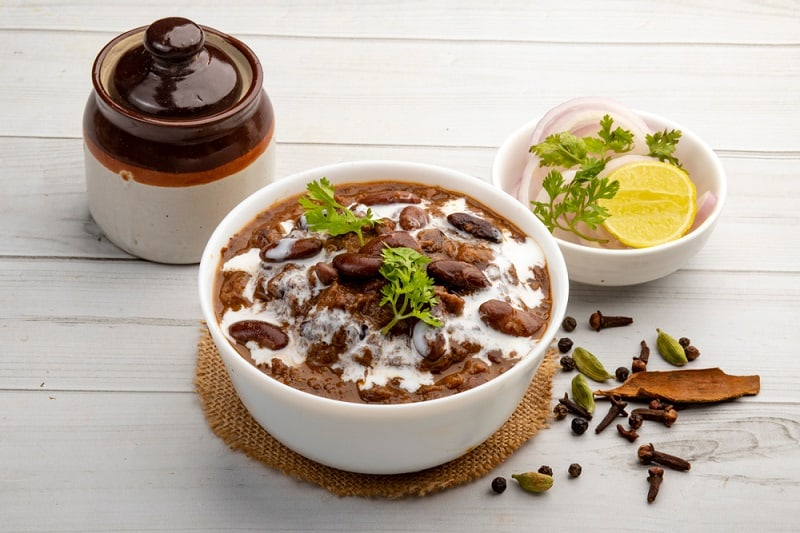food that starts with r, the lot dallas, Rajma