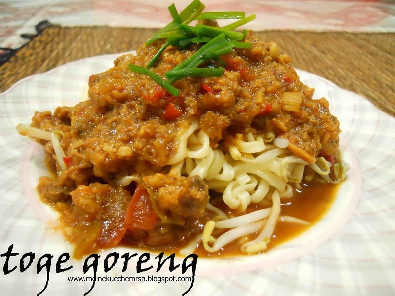food that starts with t, the lot dallas, Tauge Goreng